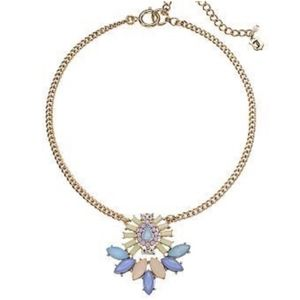 JUICY COUTURE Stone Pendant Statement Necklace